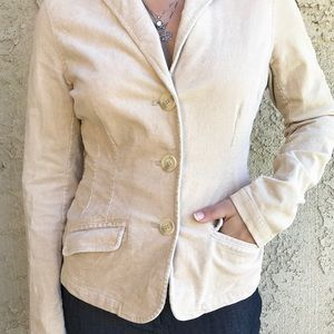 American Eagle Outfitters Corduroy Fitted Blazer